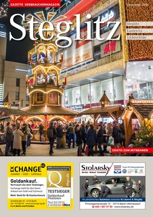 Titelbild Steglitz 12/2016