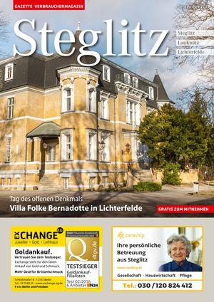 Titelbild Steglitz 9/2017