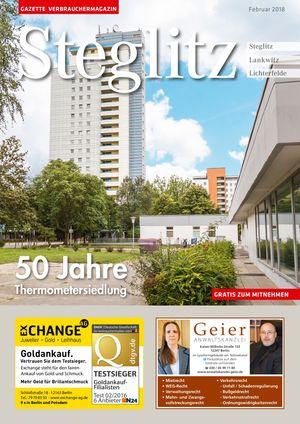 Titelbild Steglitz 2/2018