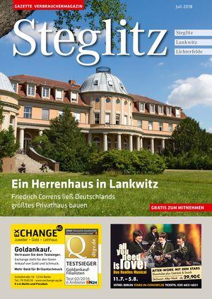 Titelbild Steglitz 7/2018