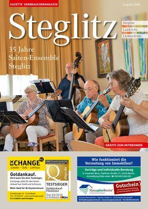 Titelbild Steglitz 8/2018