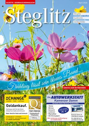 Titelbild Steglitz 4/2020