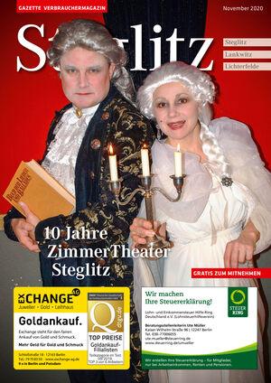 Titelbild Steglitz 11/2020