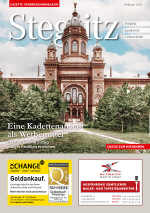Titelbild Steglitz 2/2021