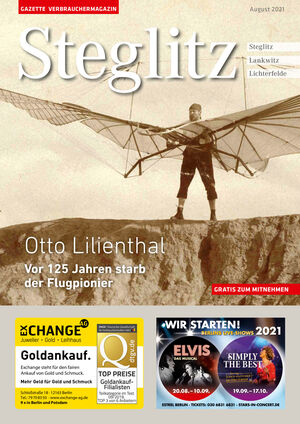Titelbild Steglitz 8/2021