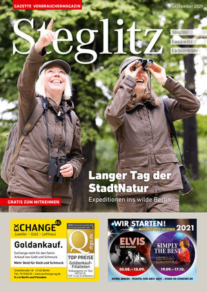 Titelbild Steglitz 9/2021