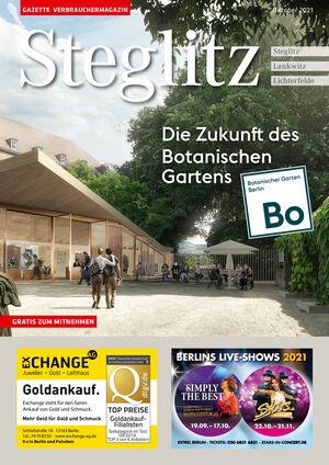 Titelbild Steglitz 10/2021