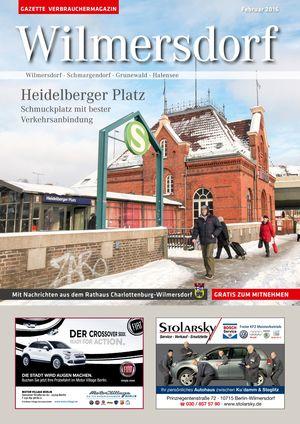 Titelbild Wilmersdorf 2/2016