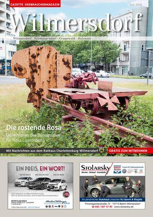 Titelbild Wilmersdorf 7/2016