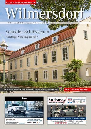 Titelbild Wilmersdorf 10/2016
