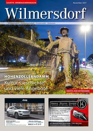 Titelbild Wilmersdorf 11/2017