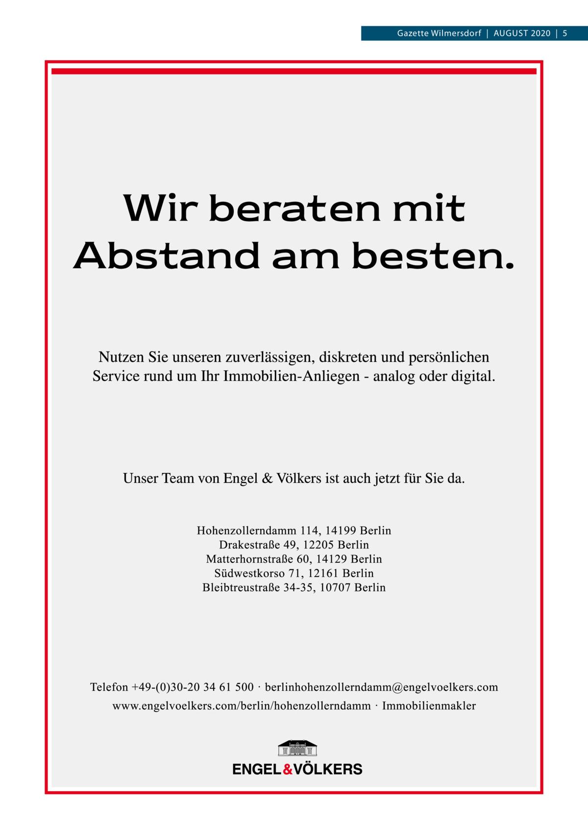 Gazette Wilmersdorf AuGust 2020 5