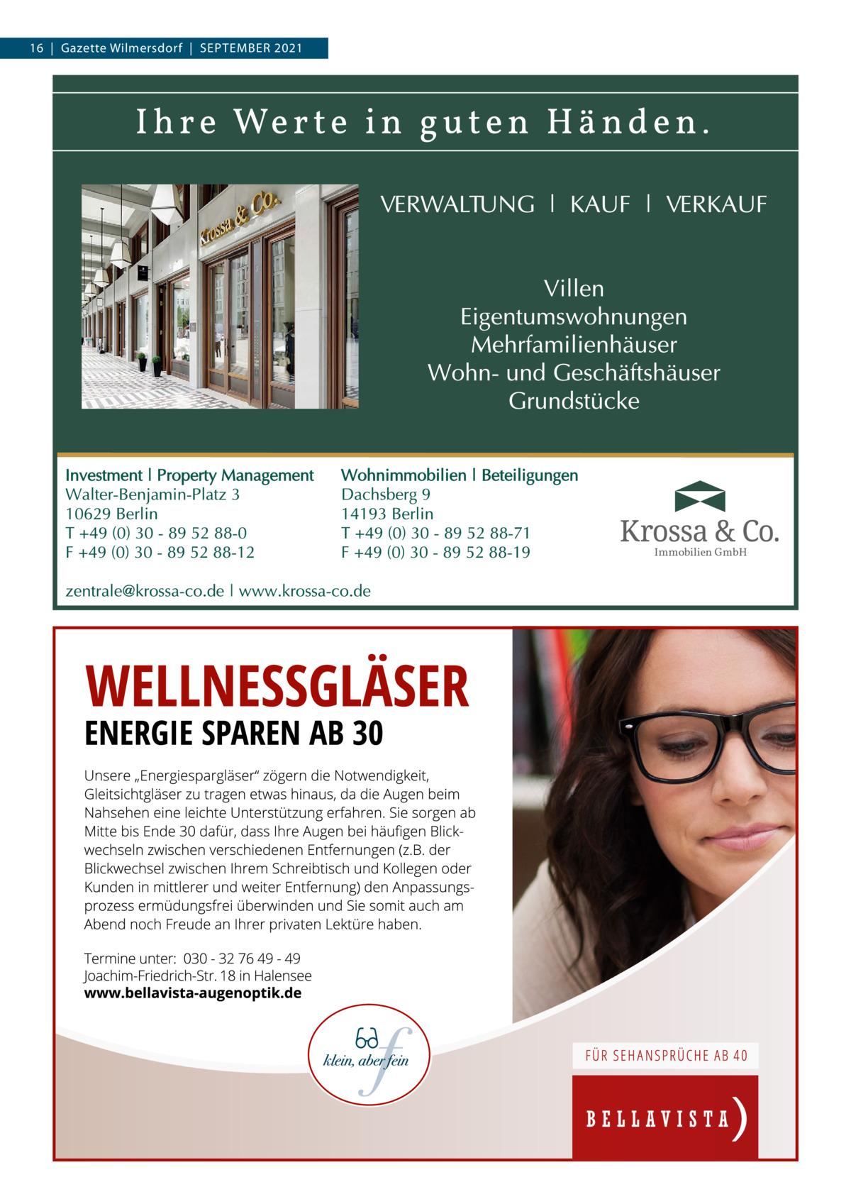 16 Gazette Wilmersdorf September 2021  Immobilien GmbH