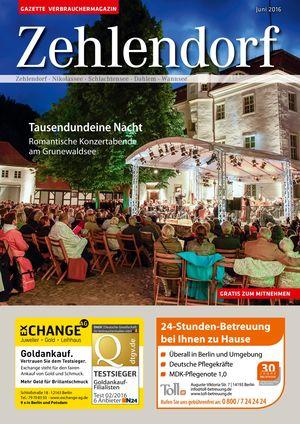 Titelbild Zehlendorf 6/2016