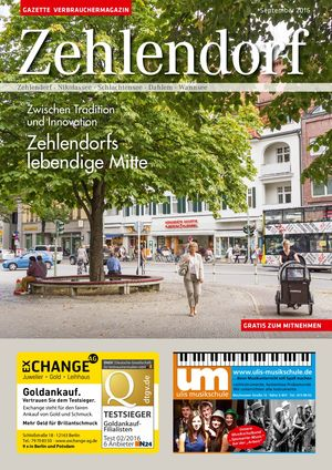 Titelbild Zehlendorf 9/2016