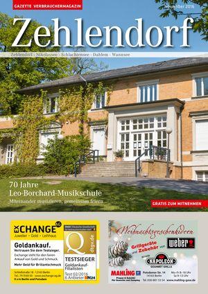 Titelbild Zehlendorf 11/2016
