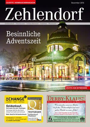 Titelbild Zehlendorf 12/2016