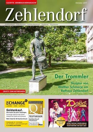 Titelbild Zehlendorf 10/2017
