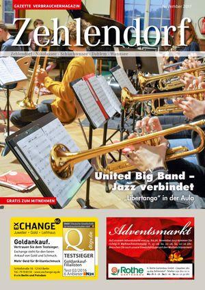 Titelbild Zehlendorf 11/2017