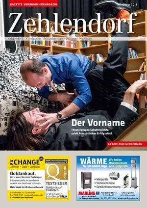 Titelbild Zehlendorf 2/2018