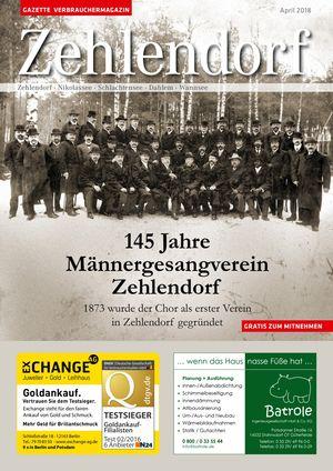 Titelbild Zehlendorf 4/2018