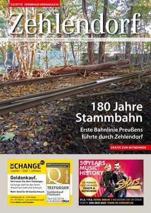 Titelbild Zehlendorf 5/2018