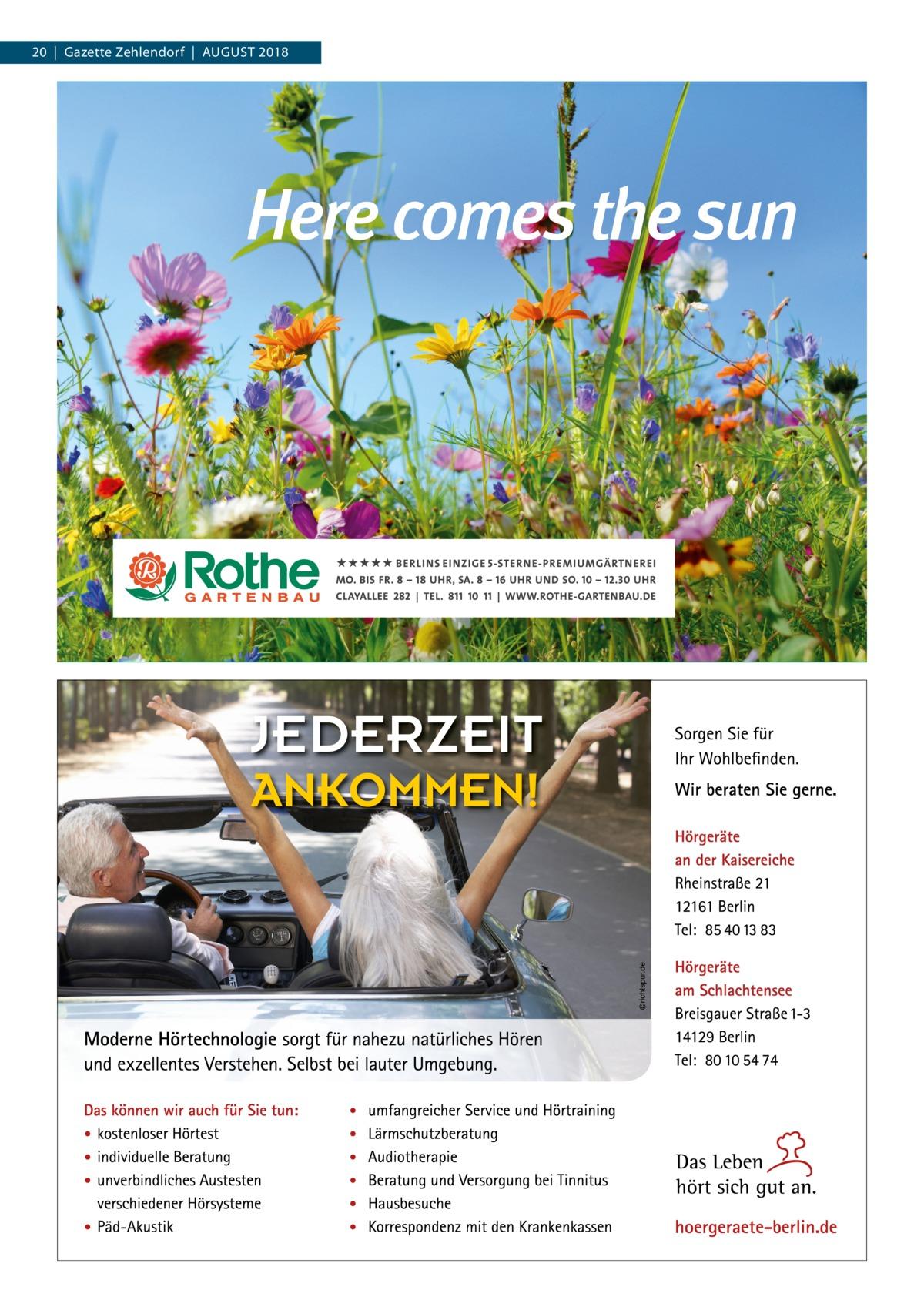 20|Gazette Zehlendorf|August 2018