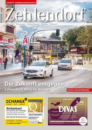 Titelbild Zehlendorf 9/2018