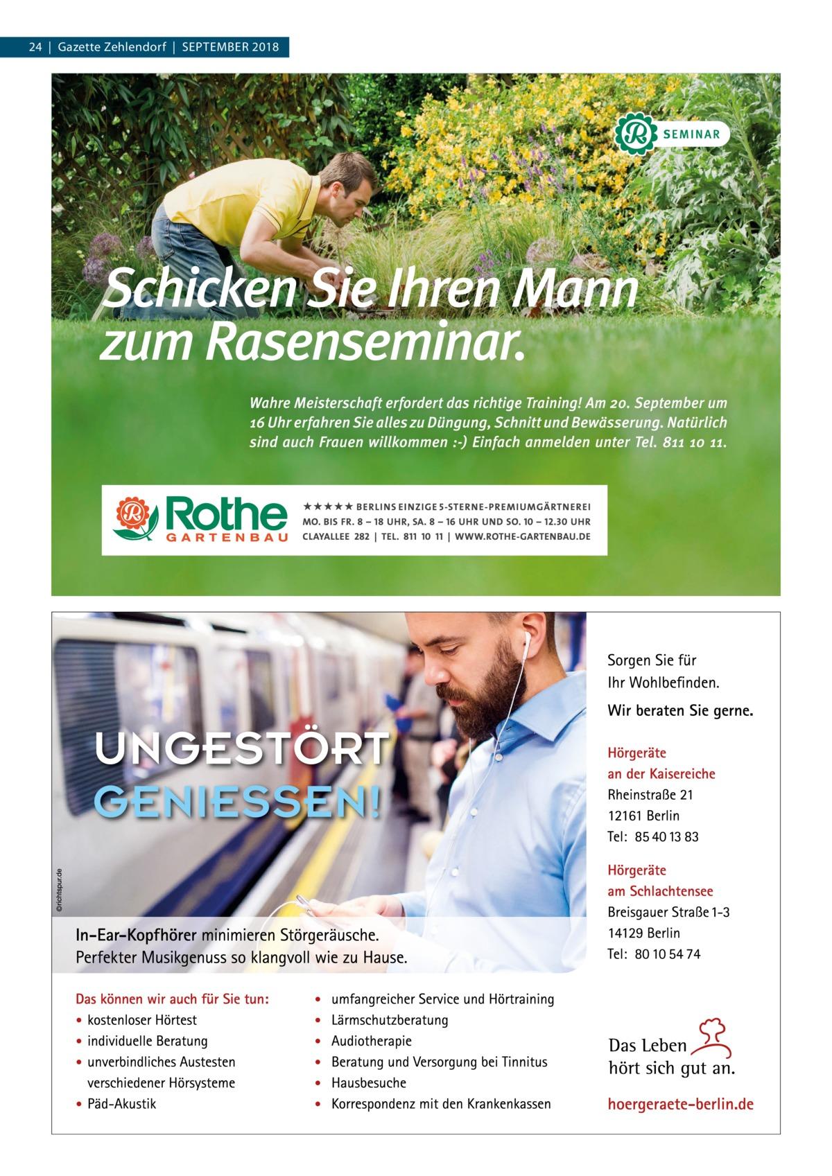 24|Gazette Zehlendorf|September 2018