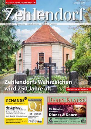 Titelbild Zehlendorf 10/2018