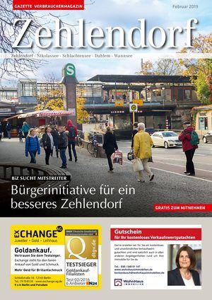 Titelbild Zehlendorf 2/2019