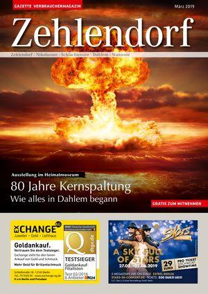 Titelbild Zehlendorf 3/2019