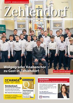 Titelbild Zehlendorf 4/2019