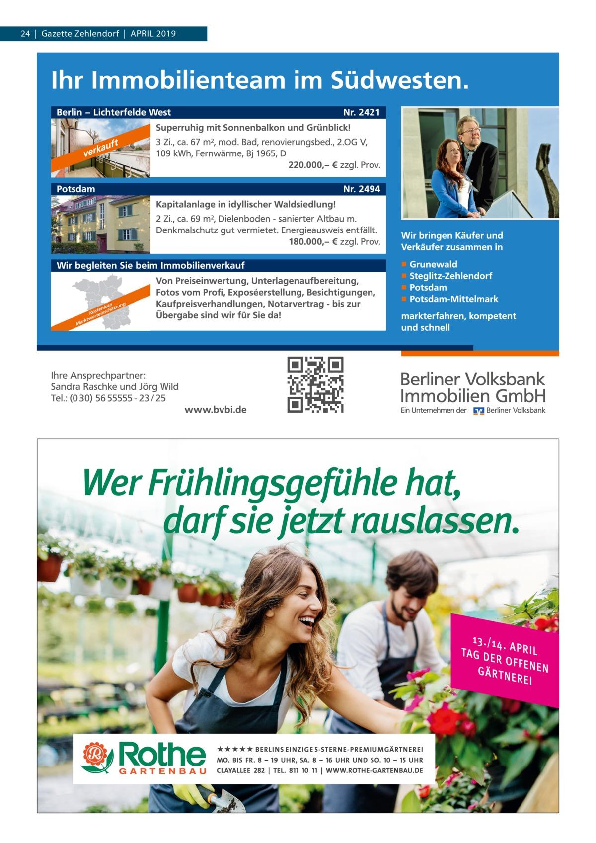 24|Gazette Zehlendorf|April 2019