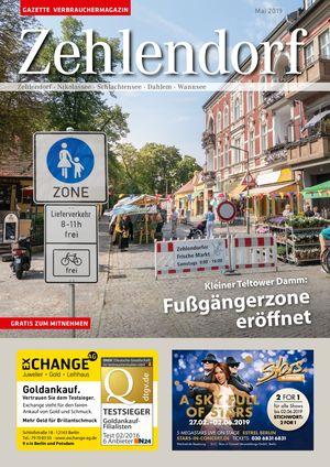 Titelbild Zehlendorf 5/2019