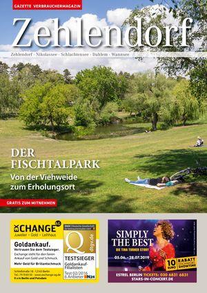Titelbild Zehlendorf 7/2019