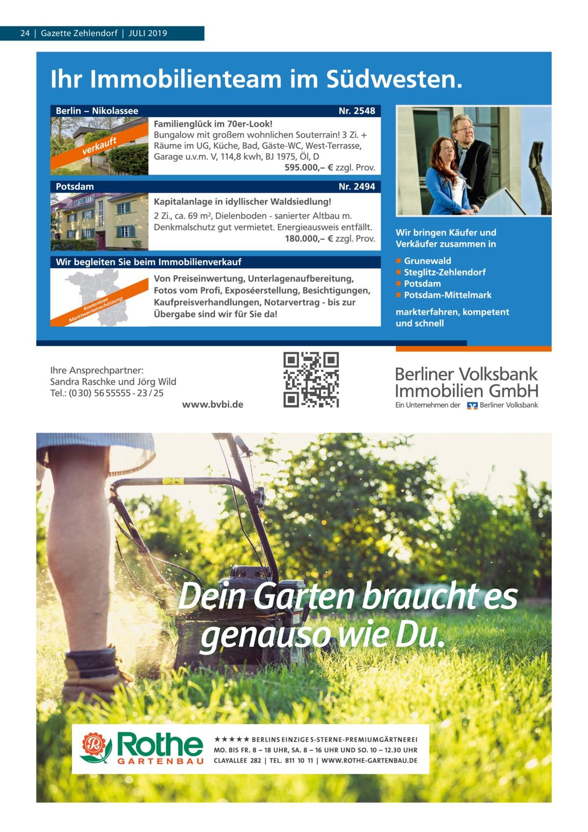 24|Gazette Zehlendorf|Juli 2019