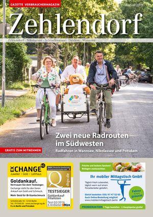 Titelbild Zehlendorf 8/2019