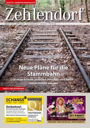 Titelbild Zehlendorf 9/2019