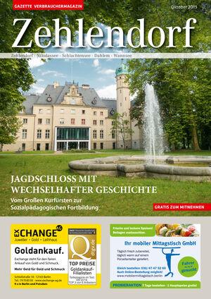 Titelbild Zehlendorf 10/2019