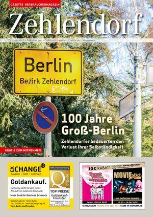 Titelbild Zehlendorf 1/2020