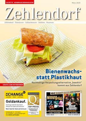 Titelbild Zehlendorf 3/2020