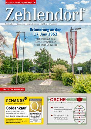 Titelbild Zehlendorf 6/2020