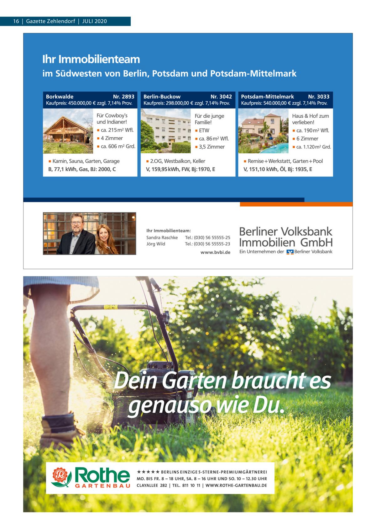 16|Gazette Zehlendorf|Juli 2020