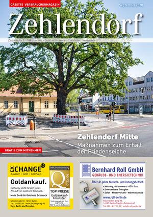 Titelbild Zehlendorf 9/2020