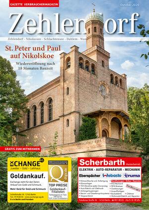 Titelbild Zehlendorf 10/2020