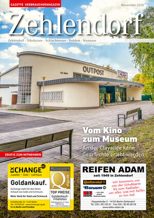 Titelbild Zehlendorf 11/2020