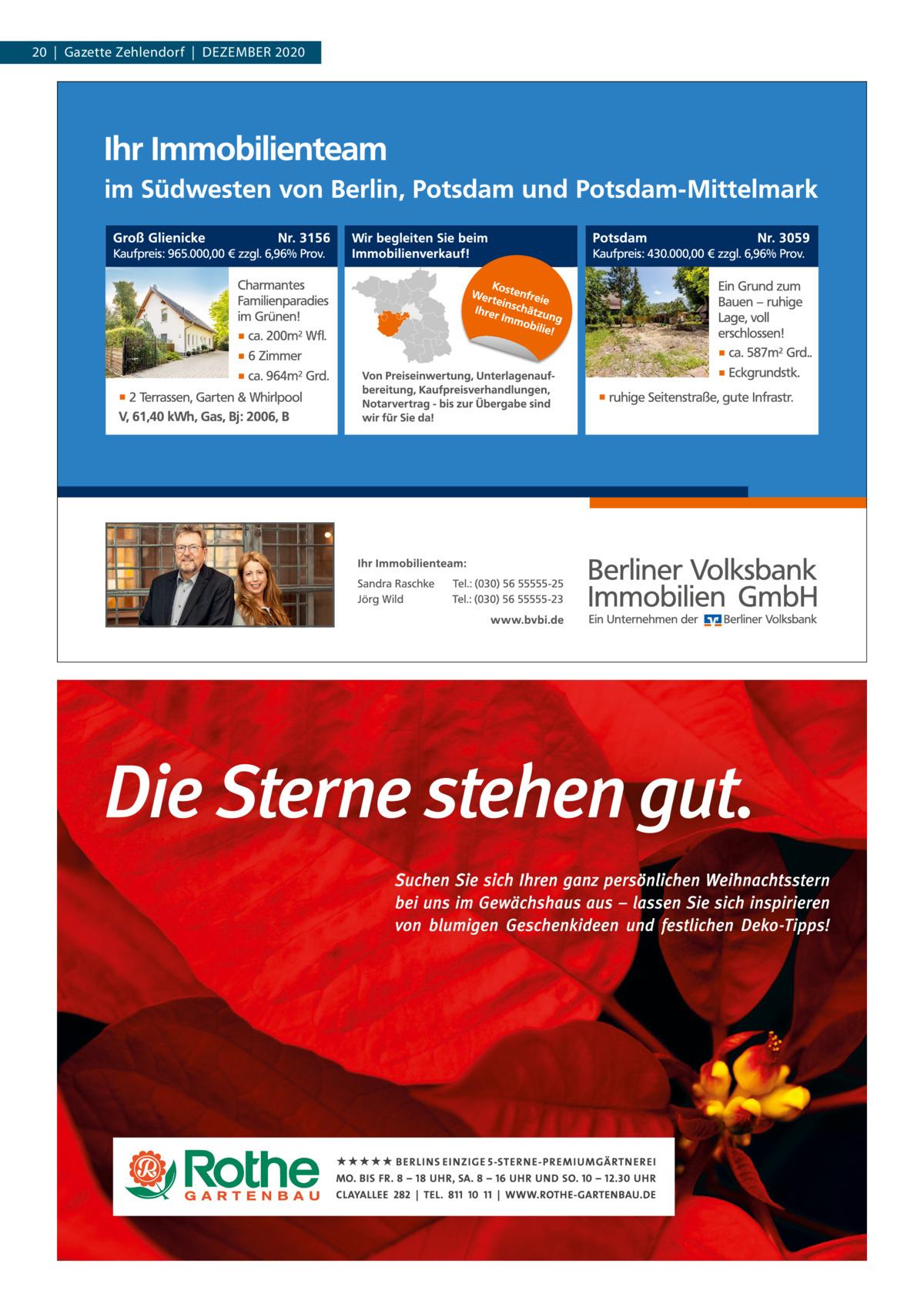 20|Gazette Zehlendorf|DEZEMBER 2020