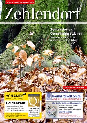 Titelbild Zehlendorf 2/2021