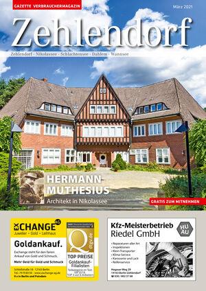Titelbild Zehlendorf 3/2021